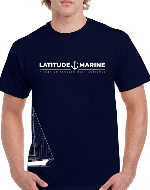 Nouveau t-shirt LATITUDE MARINE